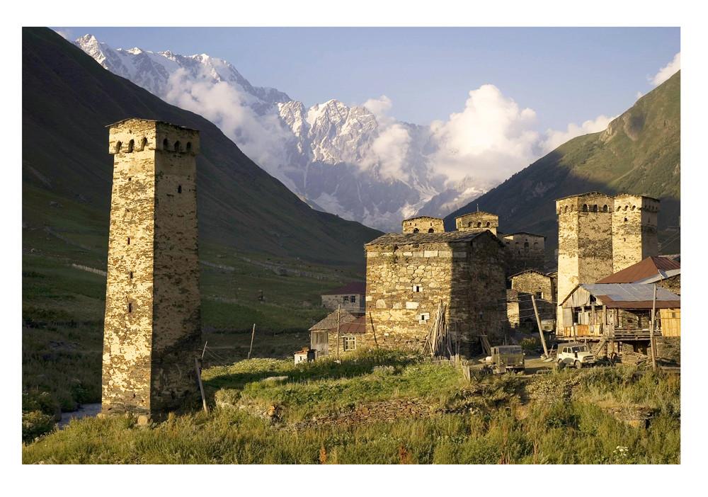 Towers of Ushguli