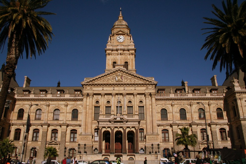 Town hall of Cape town