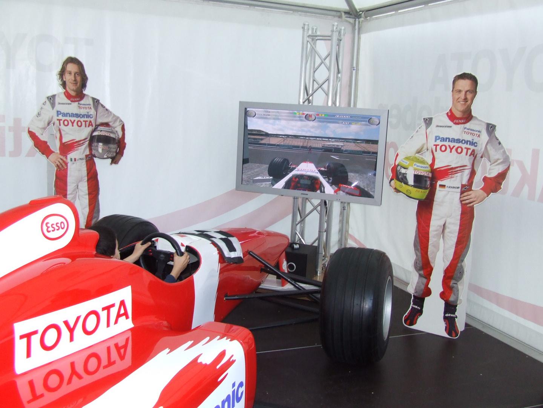 Toyota F1 Simulator