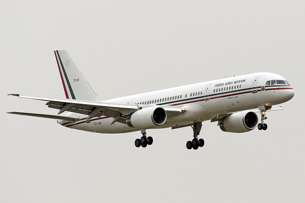 TP-01 XC-UJM Boeing 757-225, Mexico - Air Force