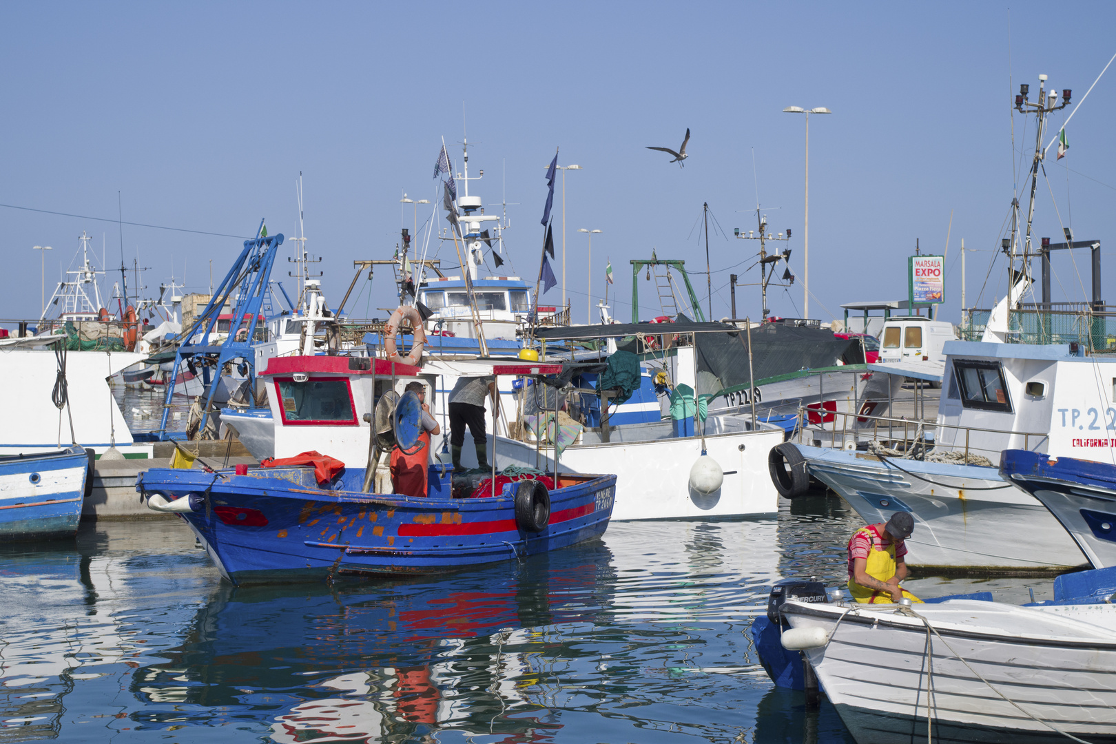 Tra i pescatori
