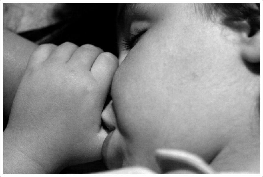 Tra le braccia della Mamma