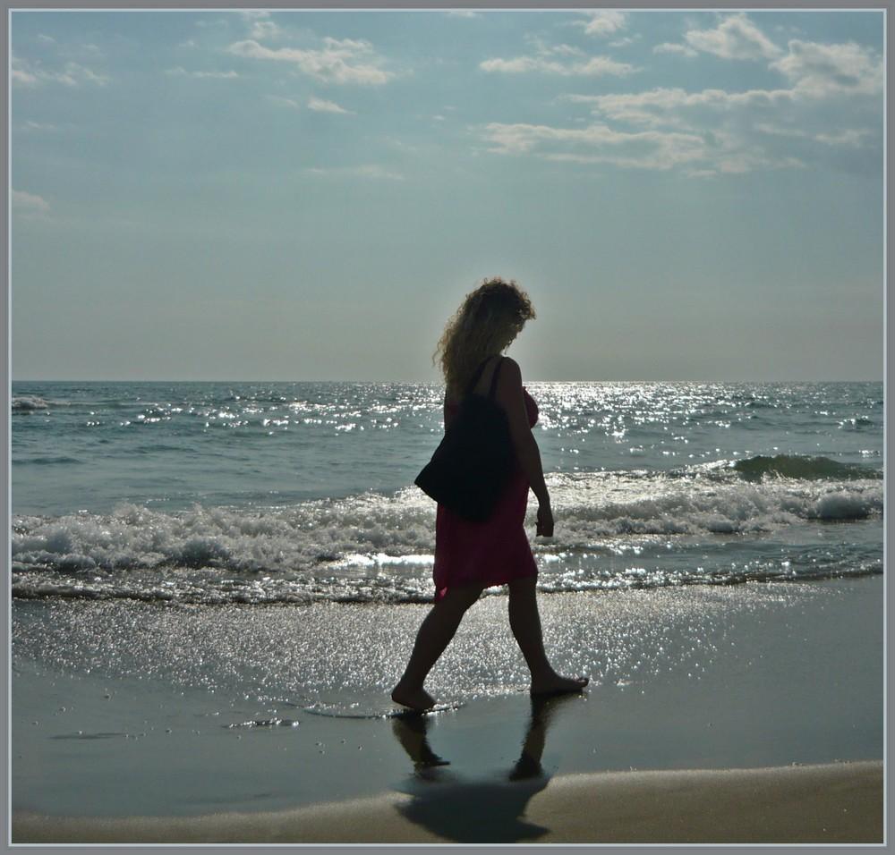.....tra le onde...