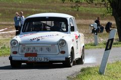 Trabbi-Power bei der DMV Thüringen Rallye