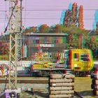Track maintenance ANAGLYPH 3D