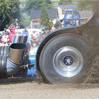 Tractorpulling mit Turbinen