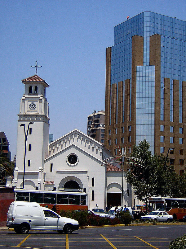 Tradition und Moderne_In Santiago de Chile