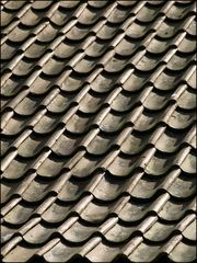Traditional house roof