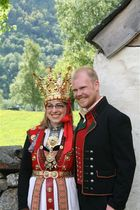 Traditional Norwegian Wedding