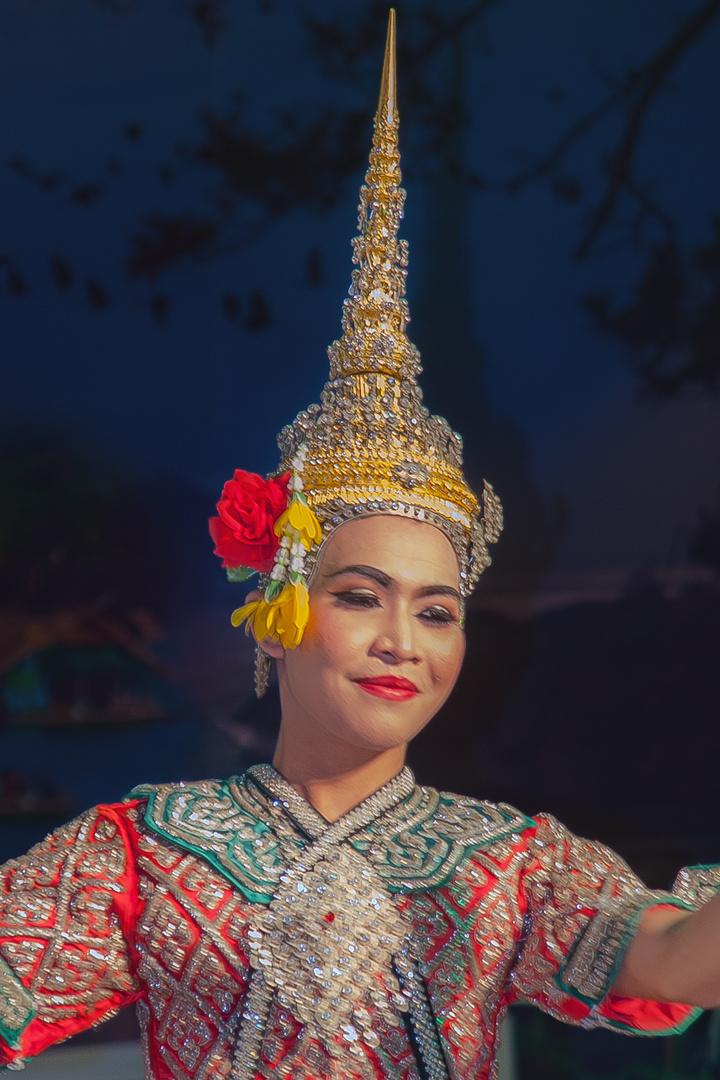 Traditional Thai Khon dress