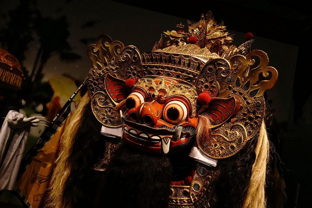 Traditionelle Maske