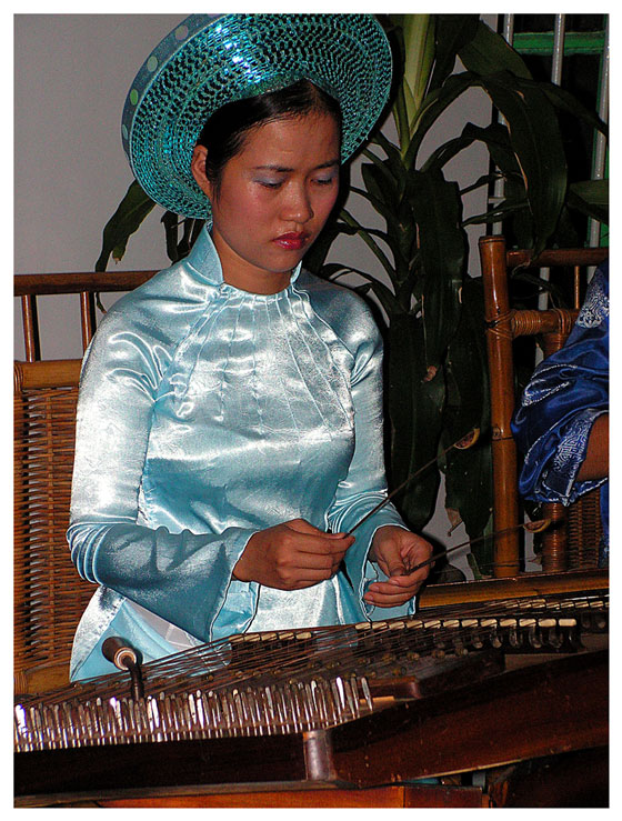 traditionelle Musik in Hue
