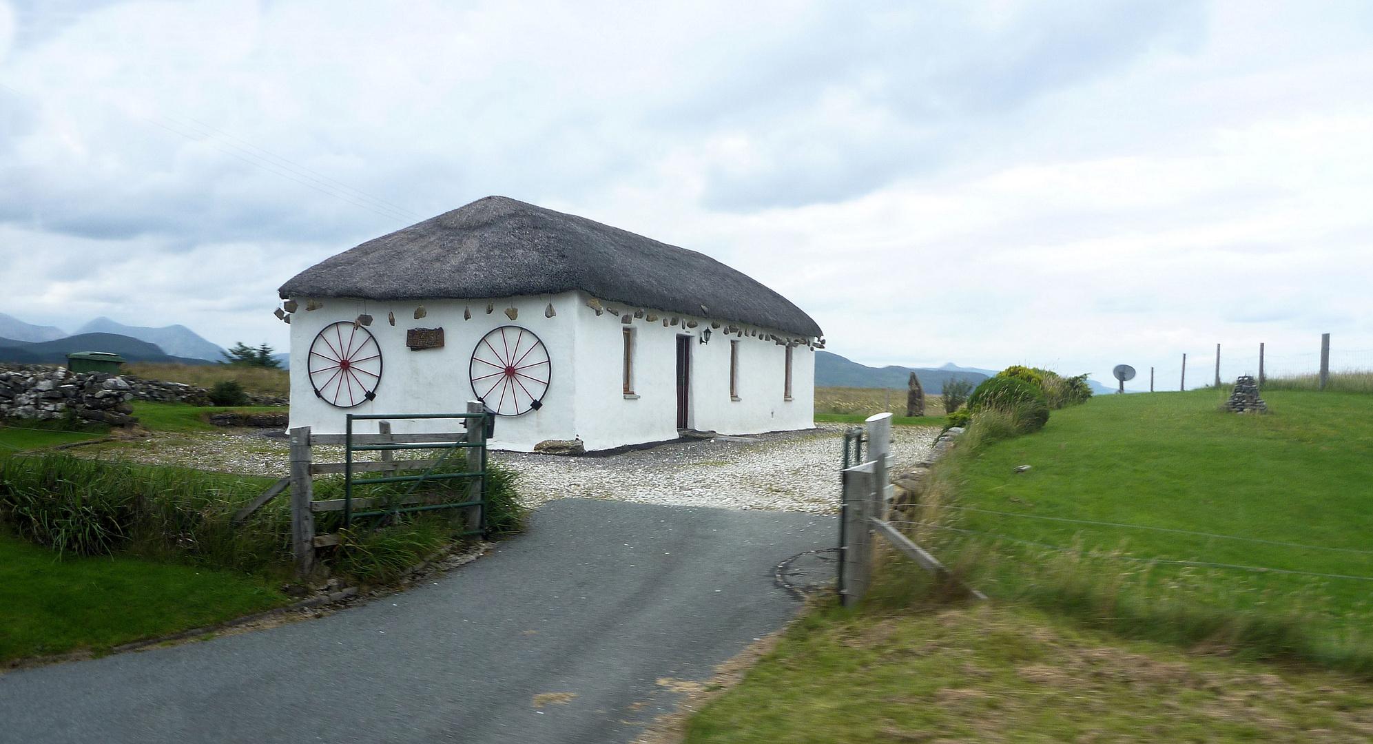 Traditionelles Haus auf Skye