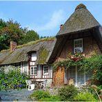 Traditionelles Haus in der Haute-Normandie
