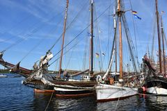Traditionssegler zur Hanse Sail 2017