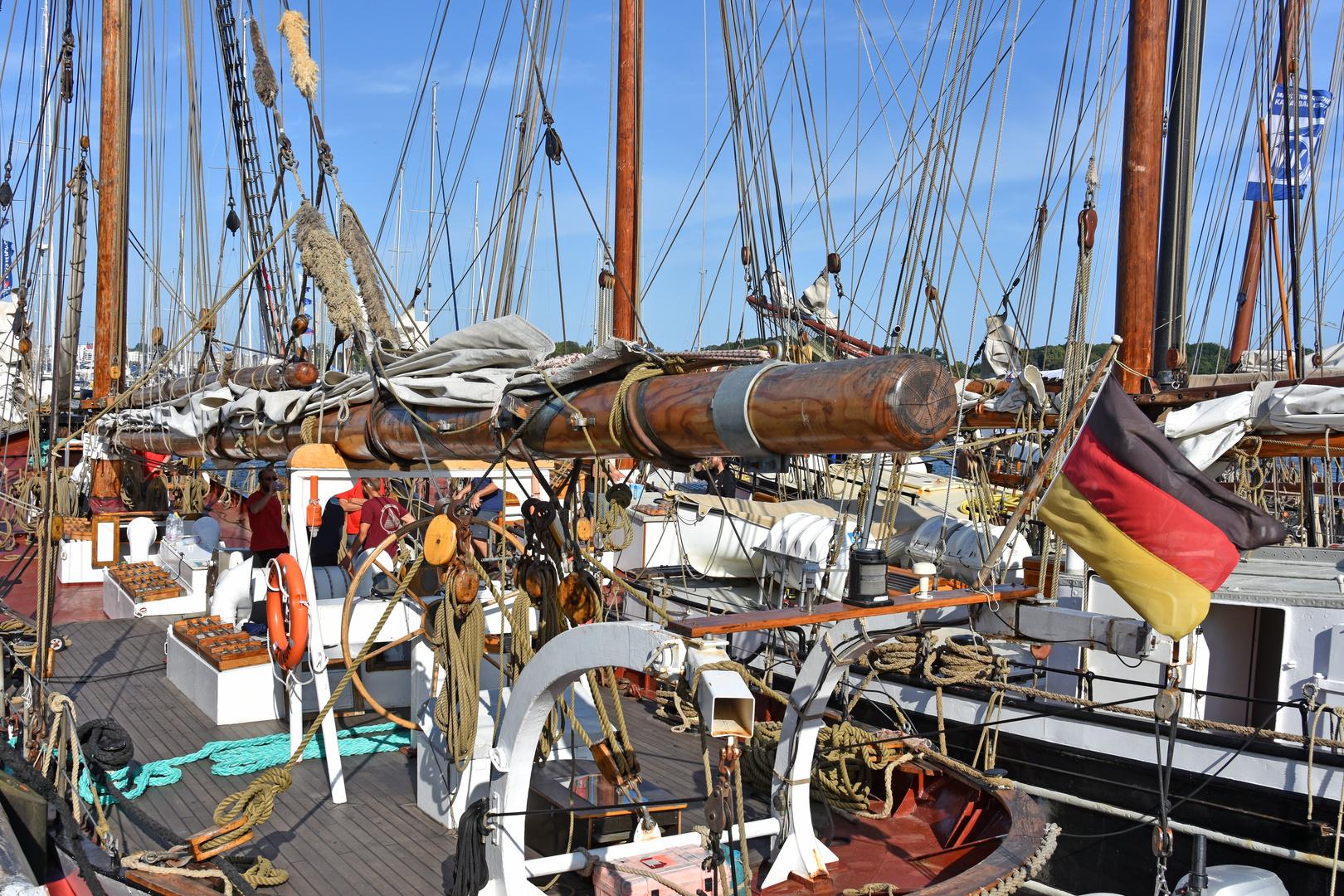 Traditionssegler zur Hanse Sail 2019 in Rostock