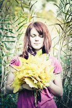 Träumende im Herbst