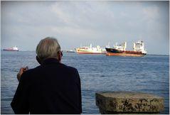 Träumender Hanseat am Panamakanal....
