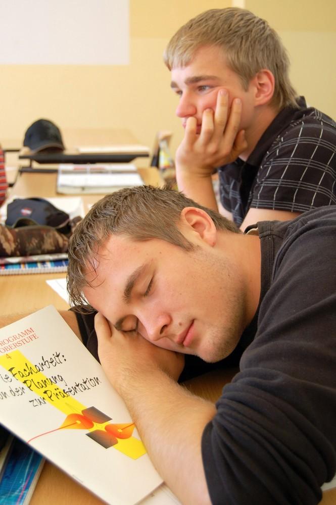 ...::: Träumer in der Schule :::...