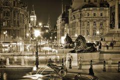 Trafalgar Square Sepia HDR