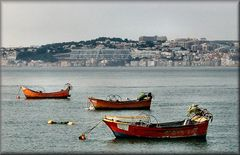 Trafaria davanti a Lisbona...