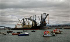 Trafaria, le port de pêche