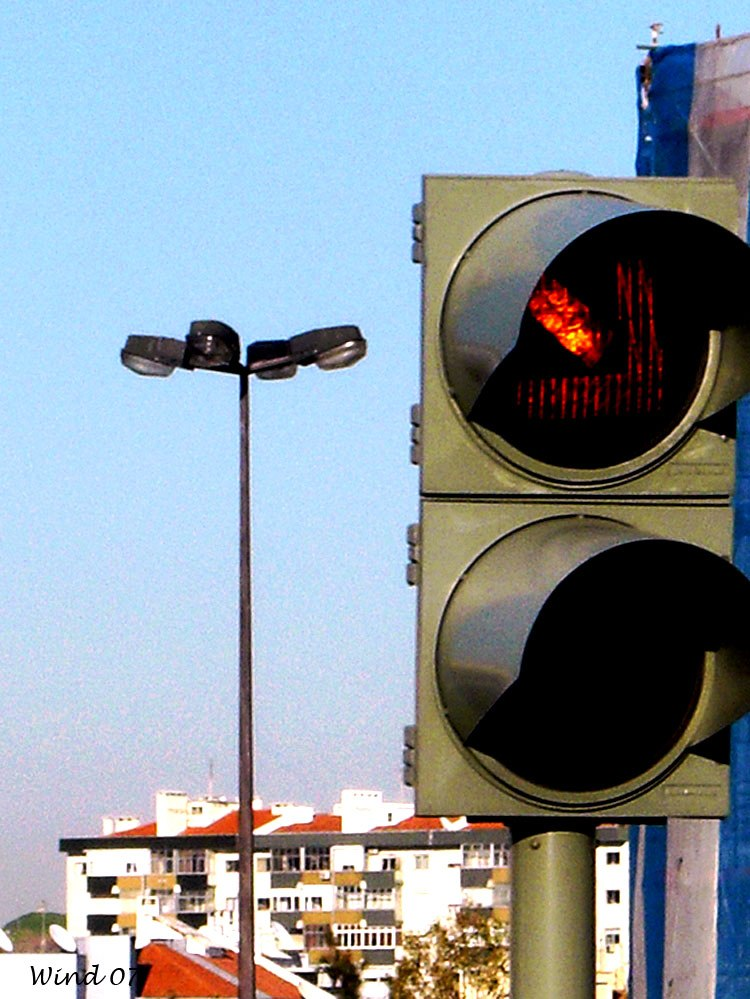 Traffic Lights and oil lamp