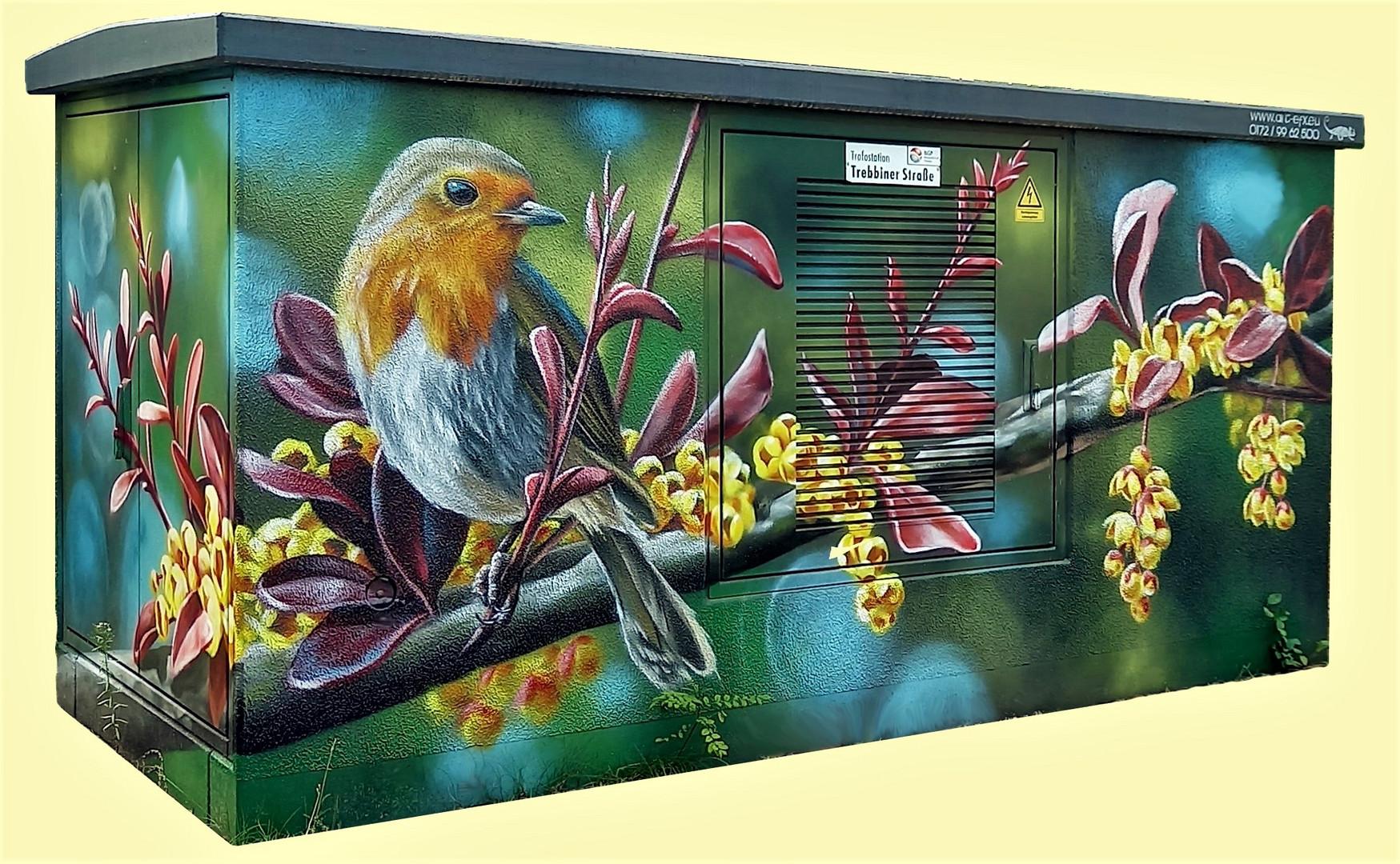 Trafohaus Graffiti