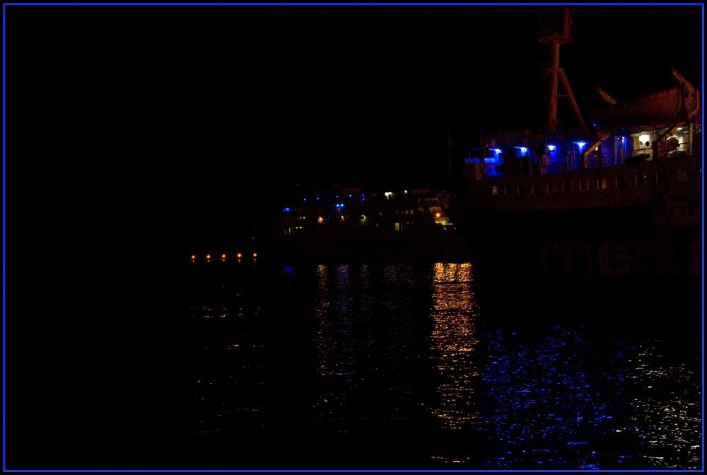 Traghetti di notte!