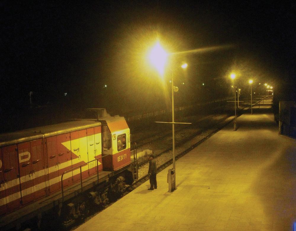 train at Usak
