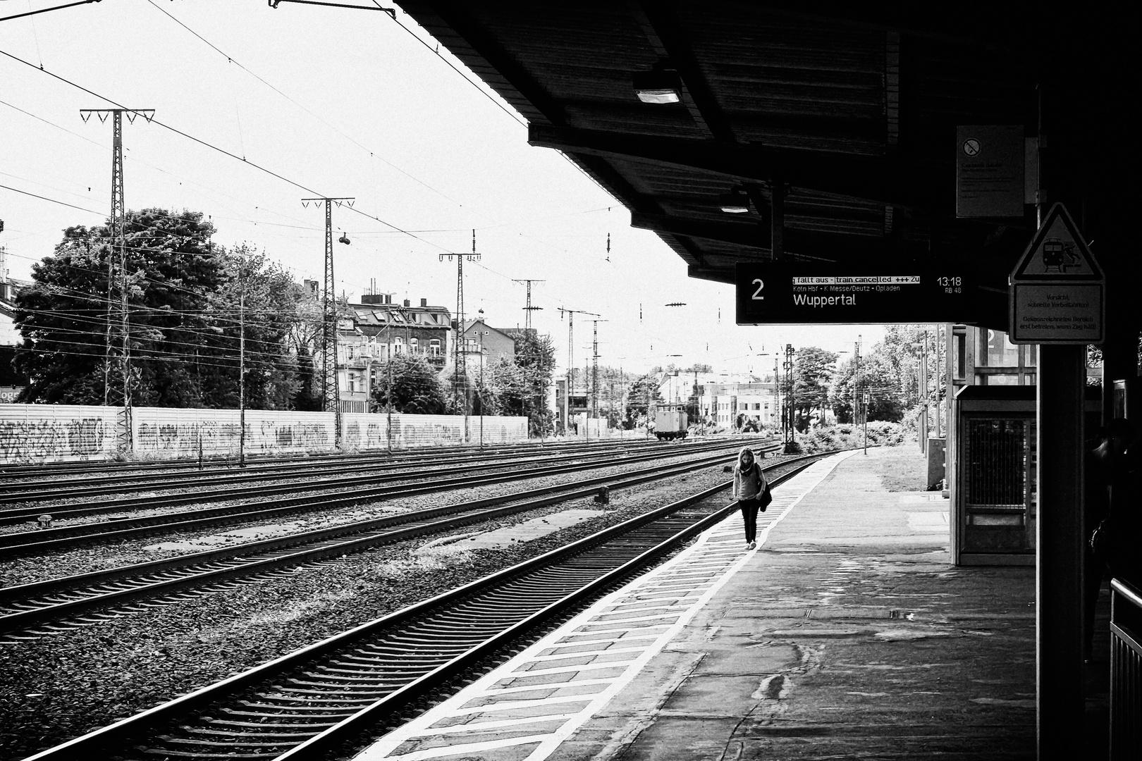 train cancelled