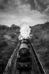 Train from the clouds