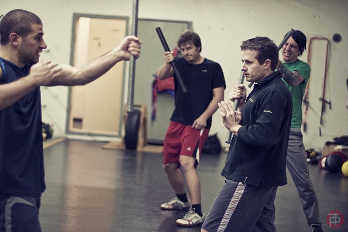 Training Wing Chung Kung Fu