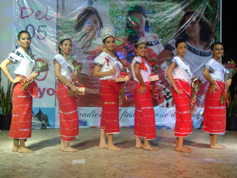 Traje Regional Zoque 2012.