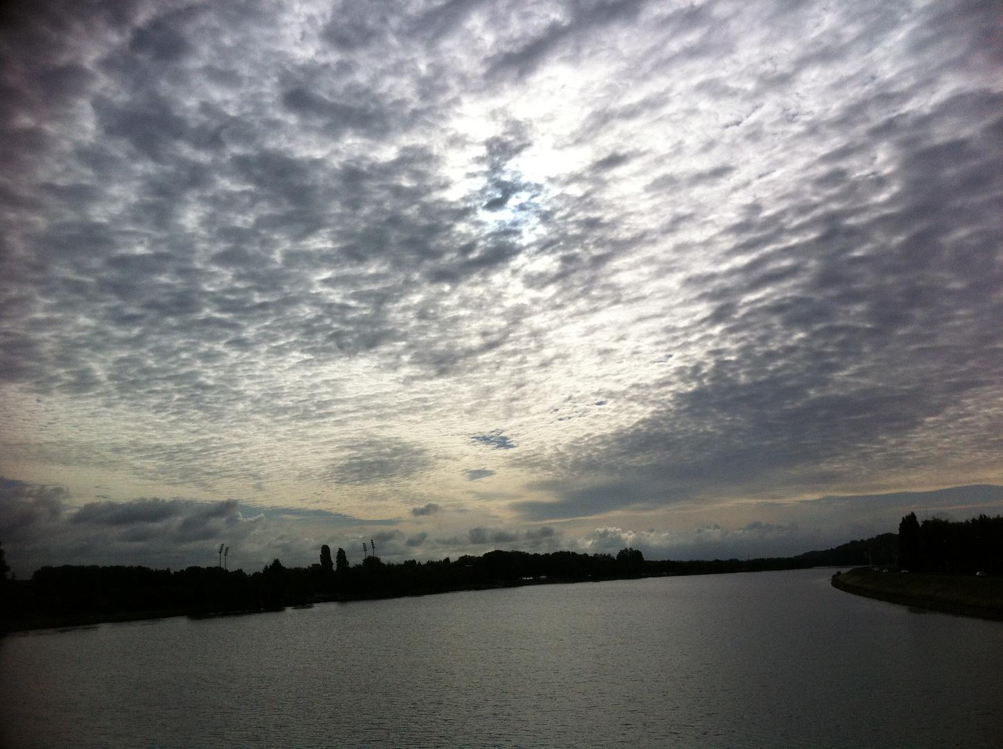 Trajectoire nuageuse
