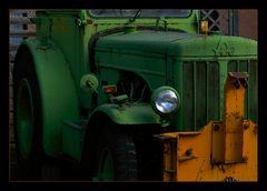 Traktor in Karlsbad