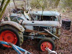 Traktoren im Ruhestand