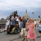 Tralllalla auf der Augustusbrücke