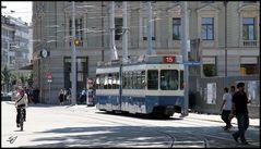 Tram 15 in Zürich