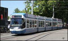 Tram 2 in Zürich