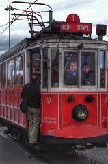 Tram d'Istanbul