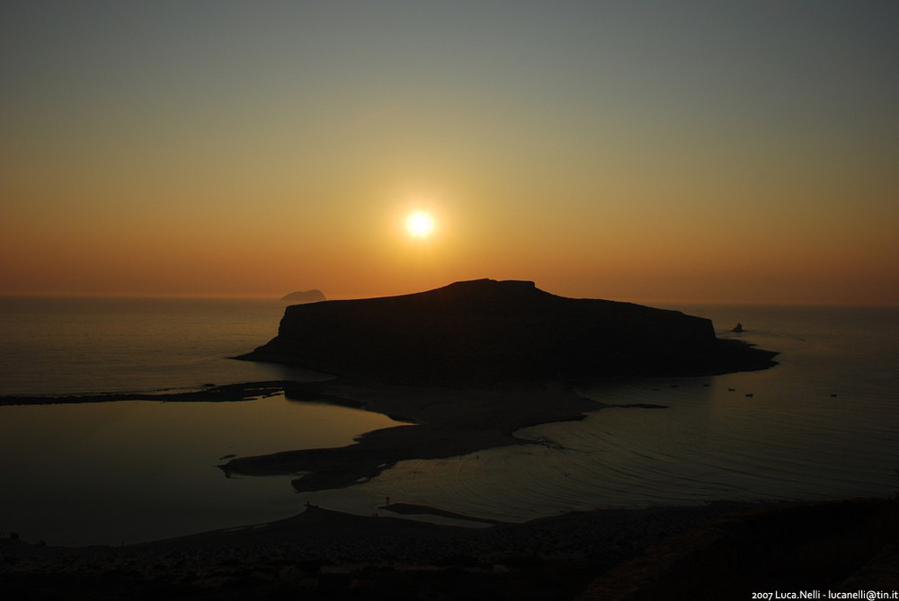Tramonto a Creta