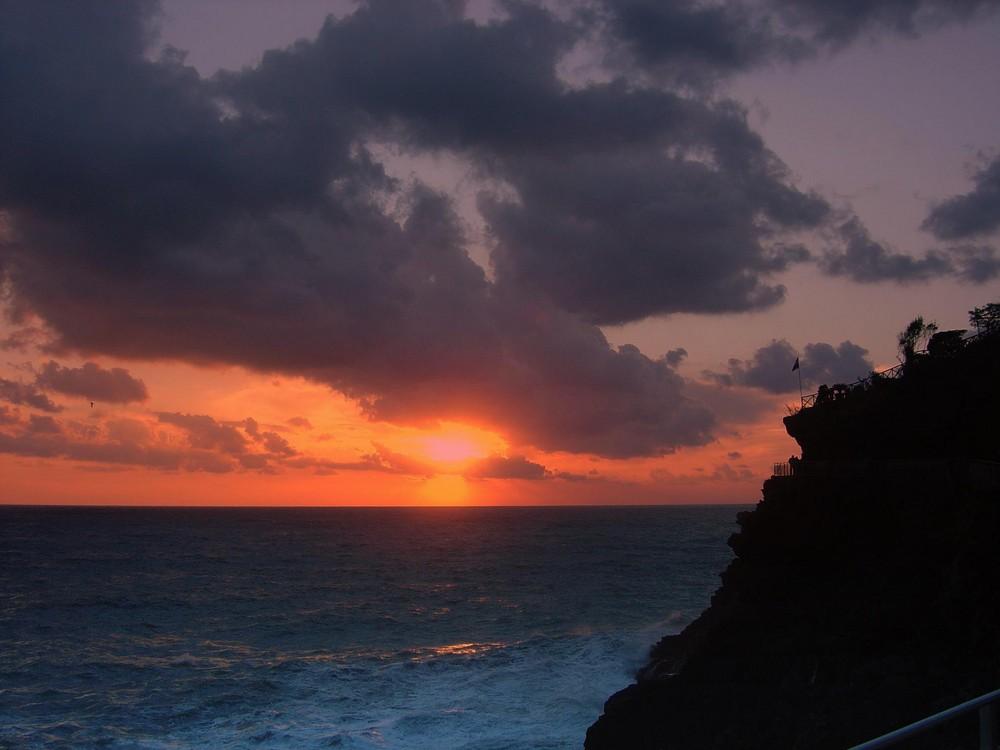 tramonto a Manarola