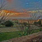 tramonto a Porto Paglia ( Carbonia- Iglesias )