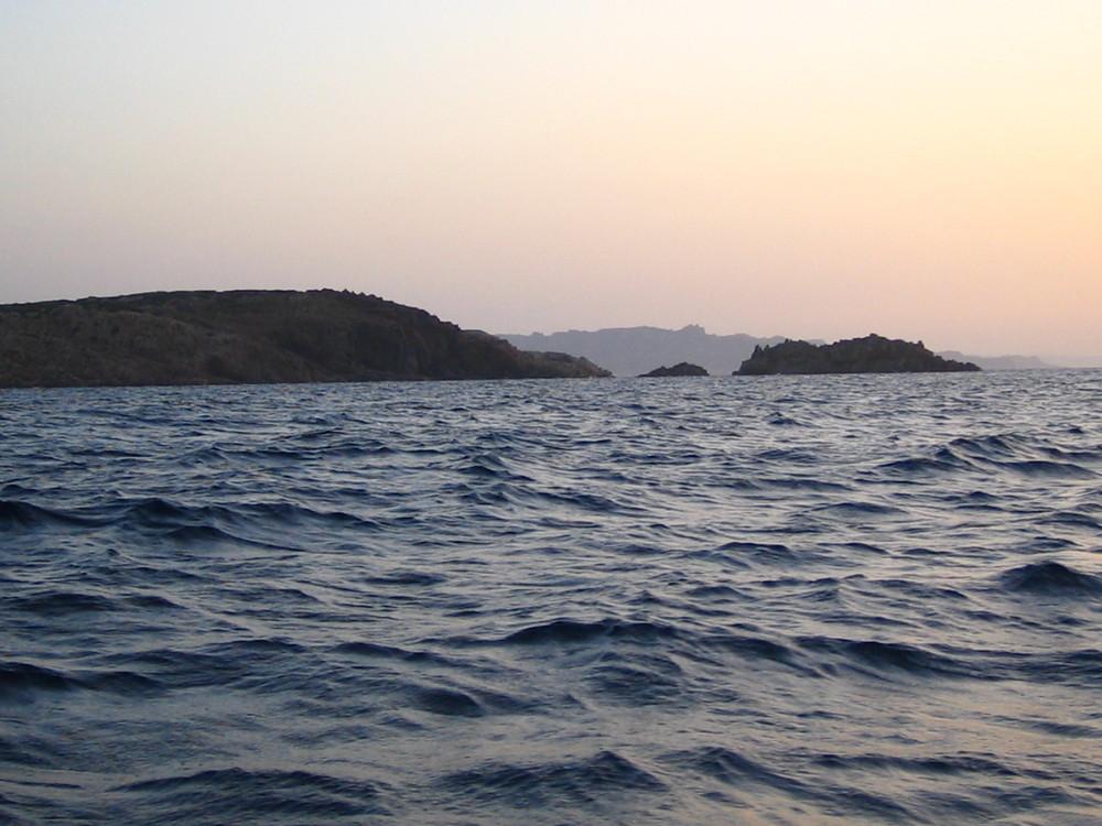 Tramonto a Punta Abatoggia, La Maddalena Sardegna