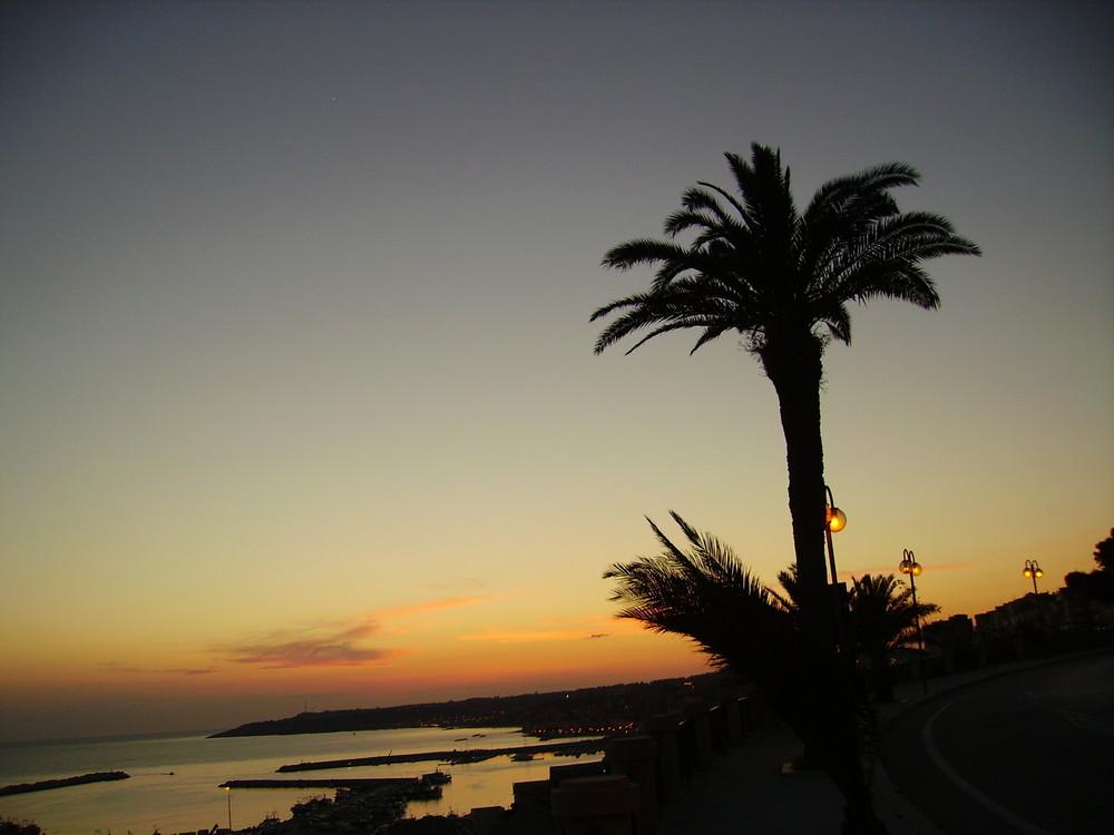 tramonto a Sciacca