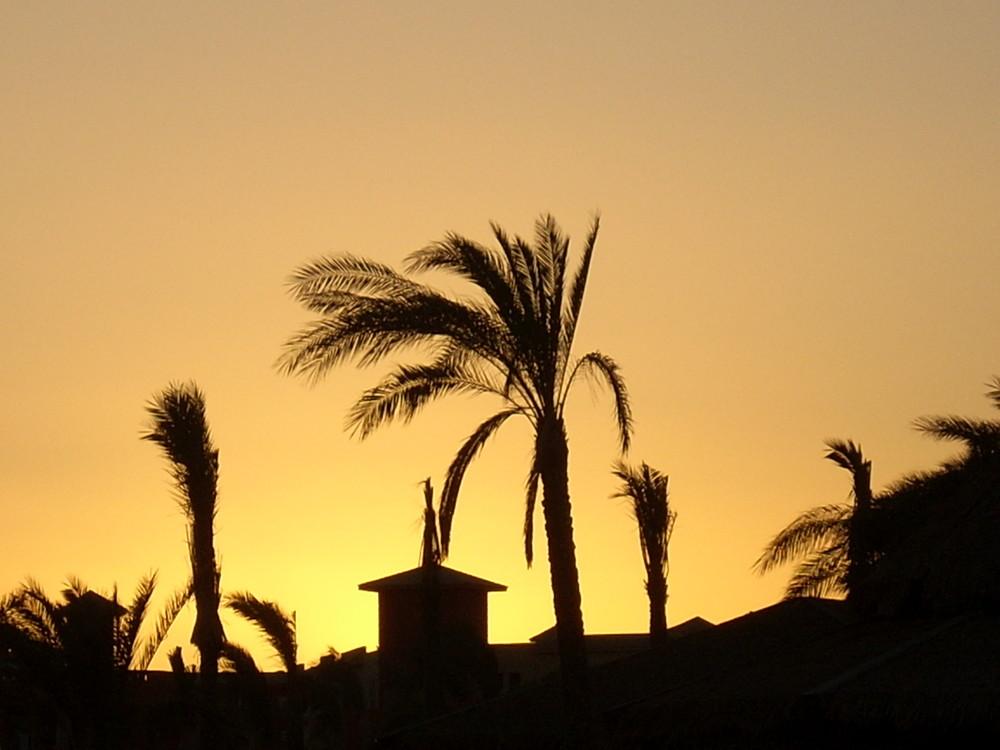 Tramonto a Sharm el Sheik