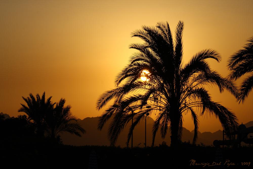 Tramonto a Sharm El Sheikh