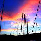 tramonto a ventotene