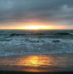 tramonto a viareggio...